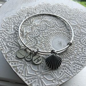 Alex and Ani Shell Charm Bracelet!